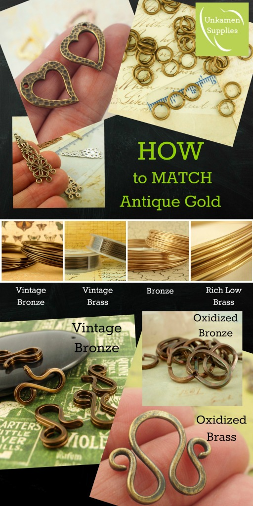 how to match antique gold board
