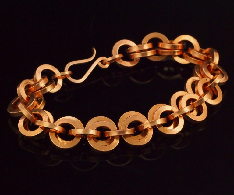 Square Copper Bracelet