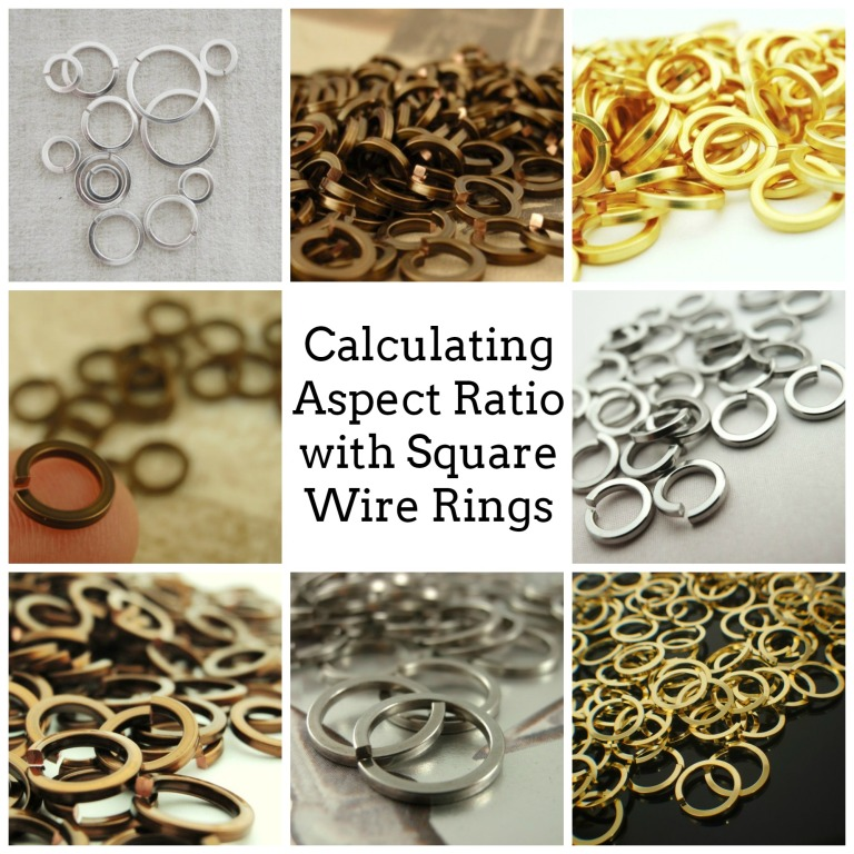 Calculating Aspect Ratio with Square Wire Rings