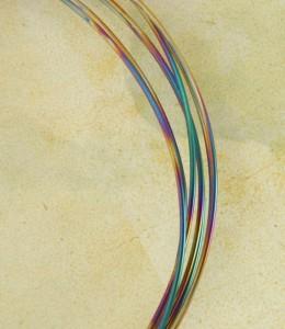 Peacock Niobium Wire