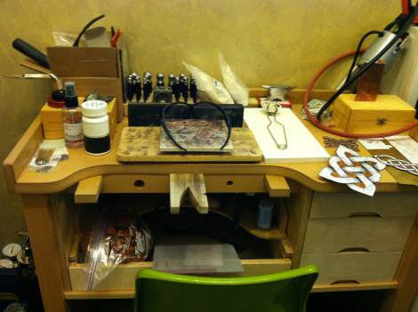 soldering desk